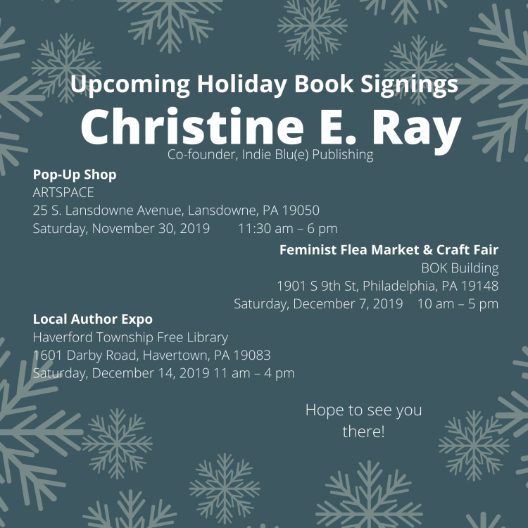 Christine E Ray Book Signings
